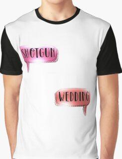 Shotgun Wedding - Panic! At The Disco Graphic T-Shirt