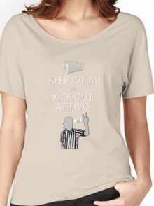 Keep Calm and Kick Out Women's Relaxed Fit T-Shirt