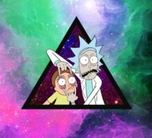 Rick and morty spaceeee. 2 Sticker