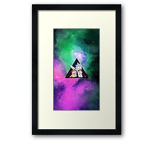 Rick and morty spaceeee. 2 Framed Print
