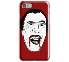 Dracula Line Art iPhone Case/Skin