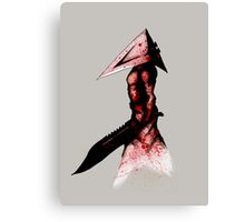 Pyramid Head 2.0 Fine Art Print Canvas Print