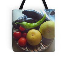 Going to the Market Tote Bag