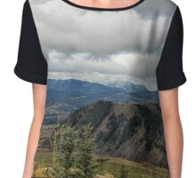 I Want to Get Lost and Drift Away Chiffon Top
