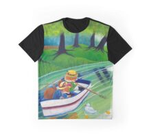 Across the river Graphic T-Shirt