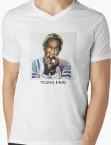 Young Thug Mens V-Neck T-Shirt