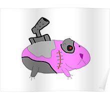 Cyborg Guinea Pig Poster