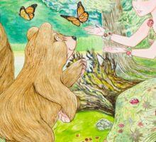 Spring Forest Sticker