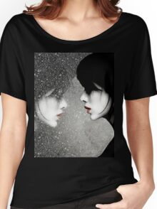 Rainy Mirror Girl Women's Relaxed Fit T-Shirt