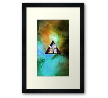 Rick and morty spaceeee. 4 Framed Print