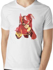 Flash Mens V-Neck T-Shirt