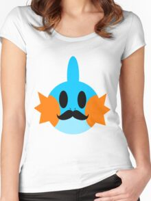Gentlemen- Mudkip Women's Fitted Scoop T-Shirt