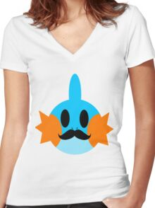 Gentlemen- Mudkip Women's Fitted V-Neck T-Shirt