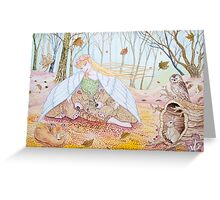 Autumn Breeze Greeting Card