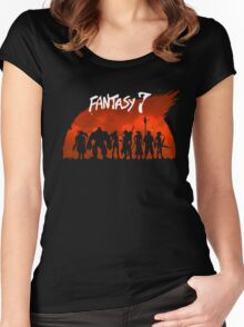 Fantasy VII Women's Fitted Scoop T-Shirt