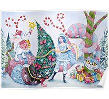 Christmas in Wonderland Poster