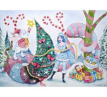 Christmas in Wonderland Photographic Print