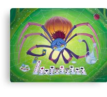 Spider Solitaire Canvas Print