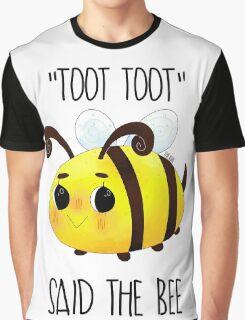 """Toot, Toot"" Graphic T-Shirt"