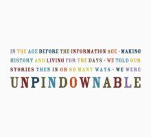 Unpindownable Kids Tee