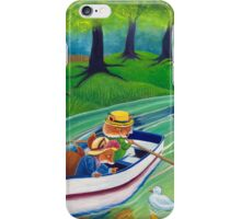 Across the river iPhone Case/Skin