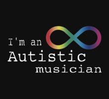 Autistic Musician Kids Tee