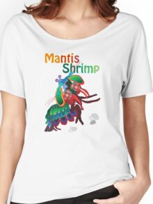 Mighty Mantis Shrimp Women's Relaxed Fit T-Shirt