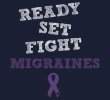 Ready Set Fight - Migraines Kids Tee