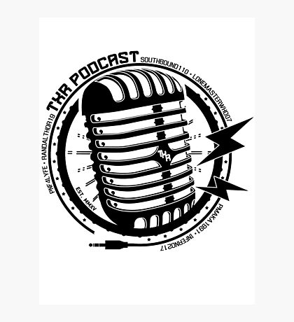 Txr Podcast Photographic Print