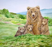 Mother Bear by Wil Zender