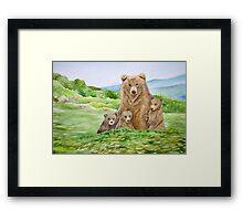 Mother Bear Framed Print