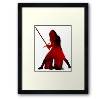 Kylo Ren - Star Wars Framed Print