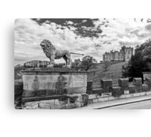 Alnwick Castle, Northumberland Canvas Print