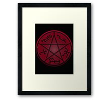 Demon Trap Framed Print