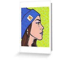Carhartt Girl Greeting Card
