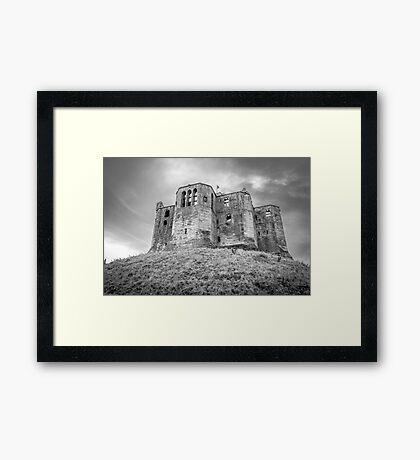 Warkworth Castle, Northumberland, England Framed Print