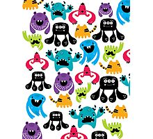 Monster Pattern Photographic Print