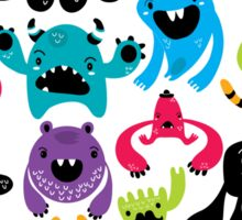 Monster Pattern Sticker