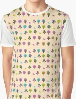 Little Nature Rainbow Graphic T-Shirt