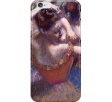 Edgar Degas - Dancers (1899) Impressionism  ballerina dancer iPhone Case/Skin