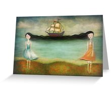 Friend-ship Greeting Card