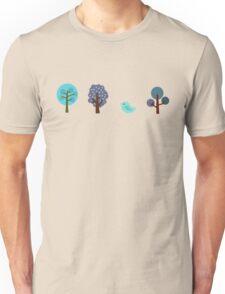 Little Nature Blue Unisex T-Shirt