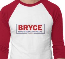 Bryce - Make Baseball Fun Again! Men's Baseball ¾ T-Shirt
