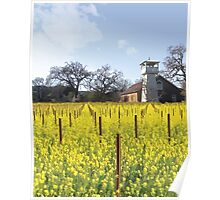 Napa Valley - Water Tower Poster