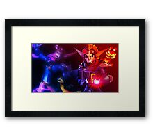 Jk and Dxter Framed Print