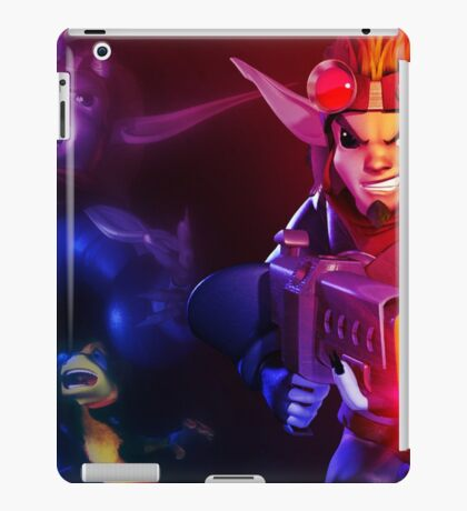 Jk and Dxter iPad Case/Skin