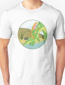 Parasaurolophus Mom and Baby T-Shirt