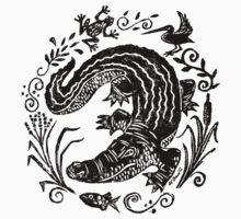 Gator Marsh Baby Tee