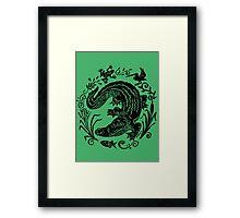 Gator Marsh Framed Print
