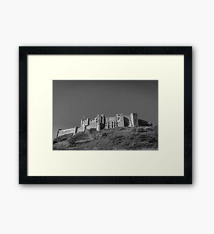 Bamburgh Castle, Northumberland Framed Print